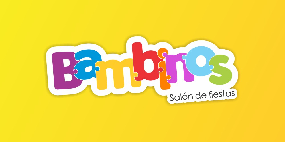 logotipo Salón de eventos Bambinos