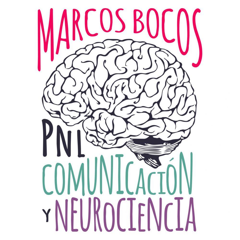 Logotipo Especialista en PNL Marcos Bocos