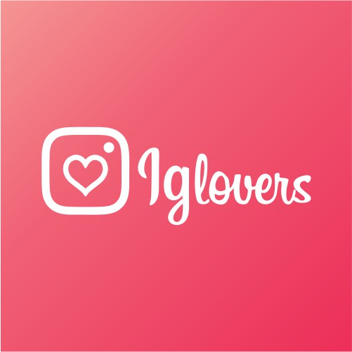 Logotipo Applicación web Ig Lovers