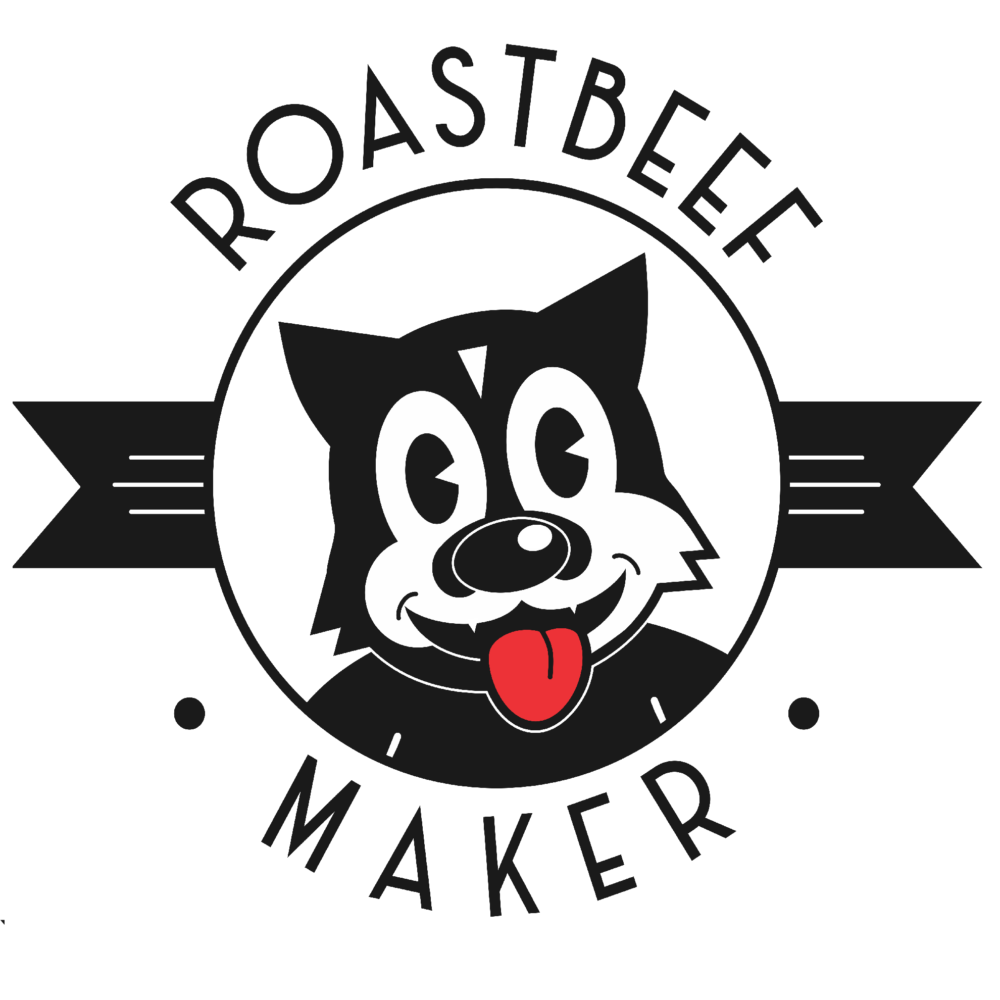 Logotipo Roastbeef Maker Resto-Bar