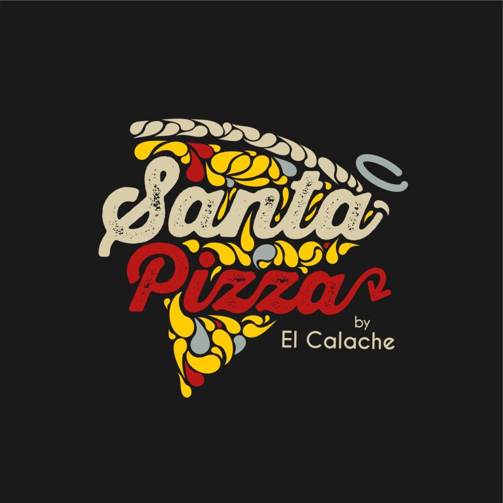 Logotipo y Branding Santa Pizza